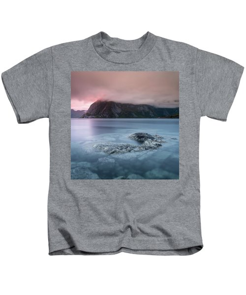 Lofoten Sunset Kids T-Shirt