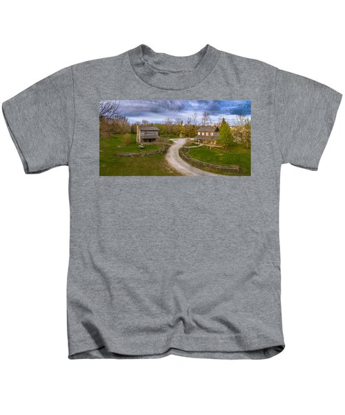Log Cabins Kids T-Shirt