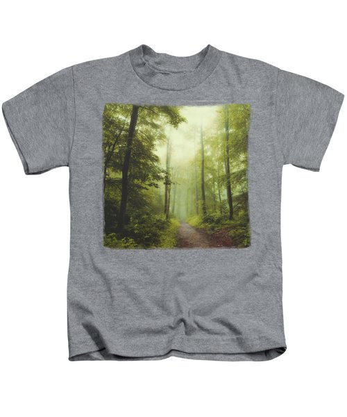 Long Forest Walk Kids T-Shirt