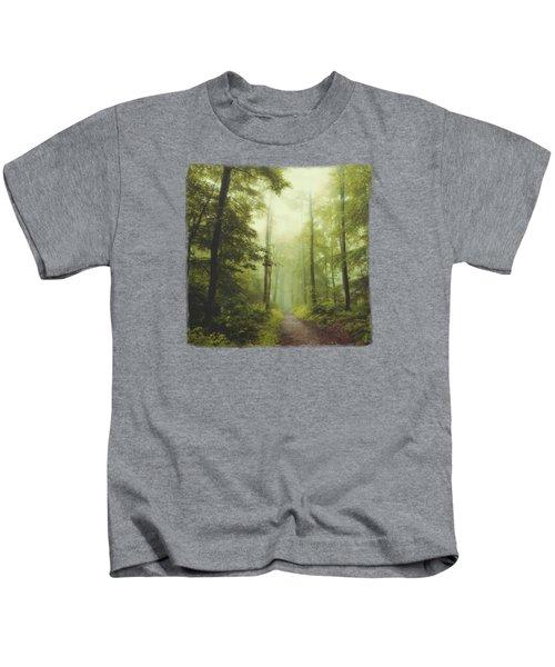 Long Forest Walk Kids T-Shirt