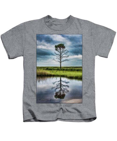 Lone Tree Reflected Kids T-Shirt