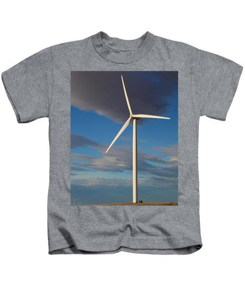 Lone Turbine Kids T-Shirt
