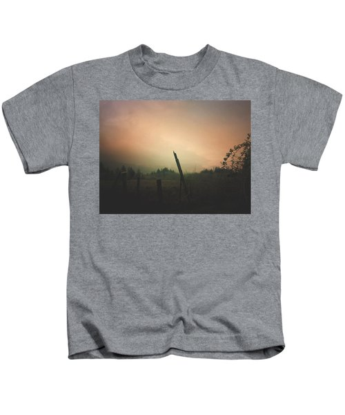 Lonely Fence Post  Kids T-Shirt
