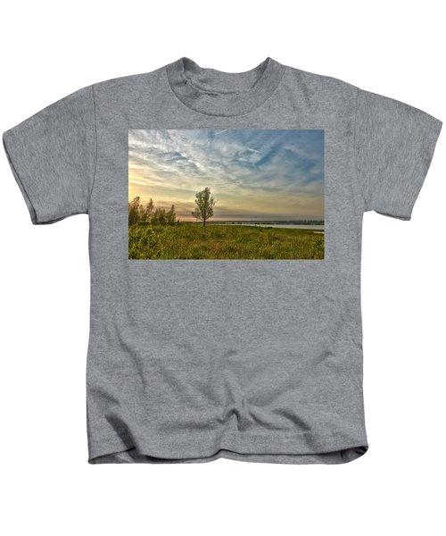 Lonely Tree In Dintelse Gorzen Kids T-Shirt