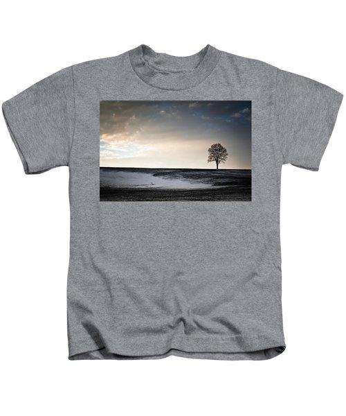Lonesome Tree On A Hill IIi Kids T-Shirt