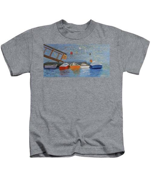 Long Cove Dock Kids T-Shirt