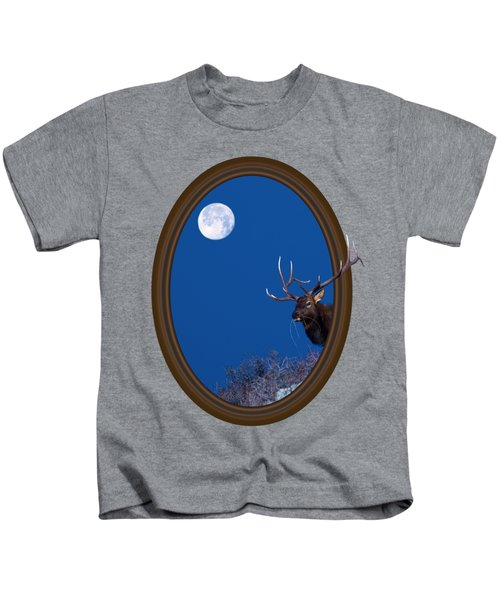 Looking Beyond Kids T-Shirt by Shane Bechler