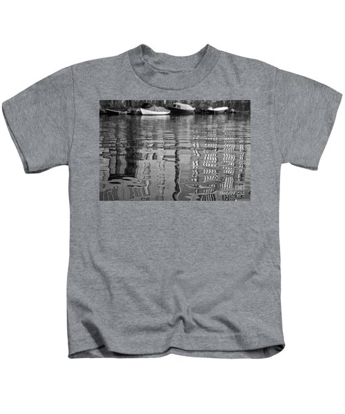 Looking In The Water Kids T-Shirt