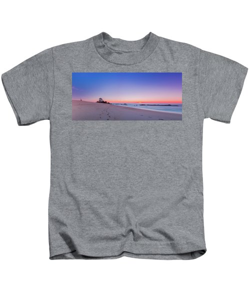 Looking Into The Distance Kids T-Shirt