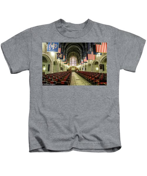 Looking To The Front Of The West Point Chapel Kids T-Shirt