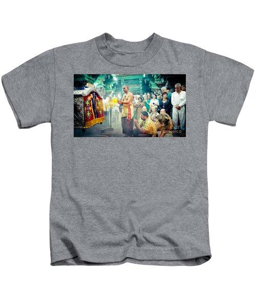 Lord Shiva Meenakshi Temple Madurai India Kids T-Shirt