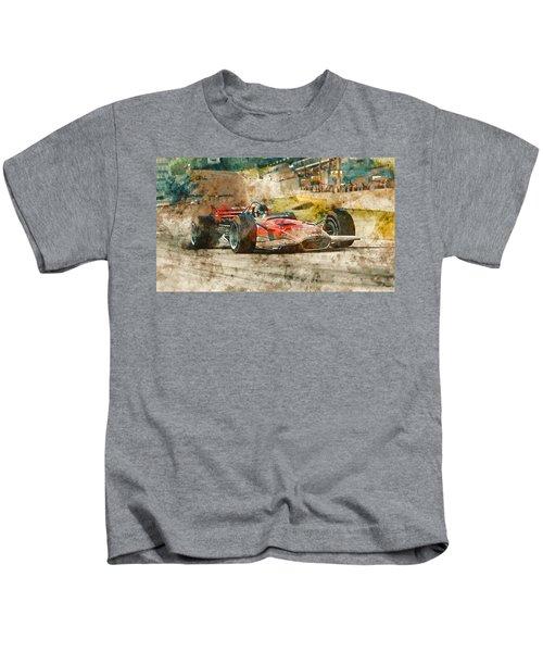 Lotus 49 - 33 Kids T-Shirt