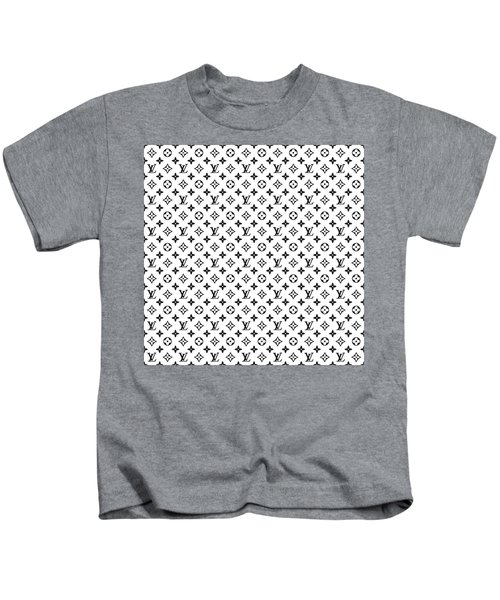 c04598548354 Louis Vuitton Pattern - Lv Pattern 02 - Fashion And Lifestyle Kids T-Shirt