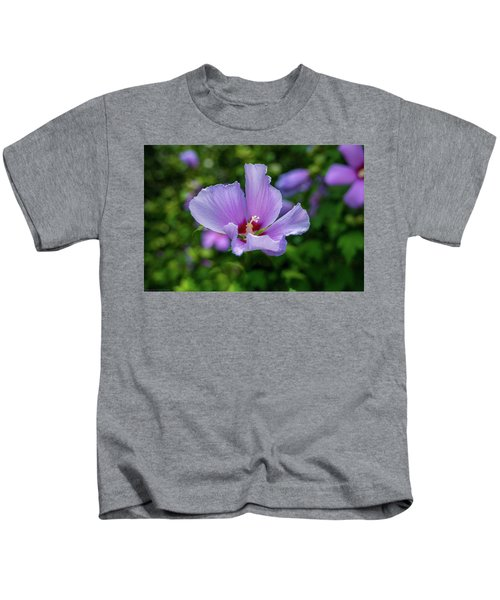 Lovely Hibiscus Kids T-Shirt