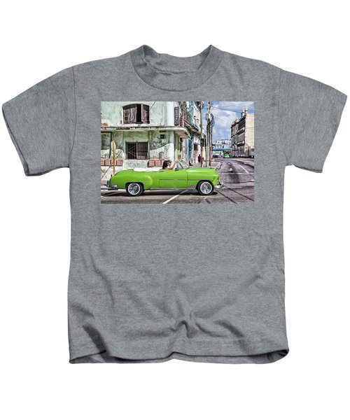 Lovin' Lime Green Chevy Kids T-Shirt