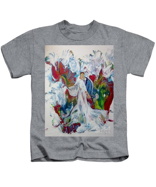 Loving You With All My Heart Kids T-Shirt