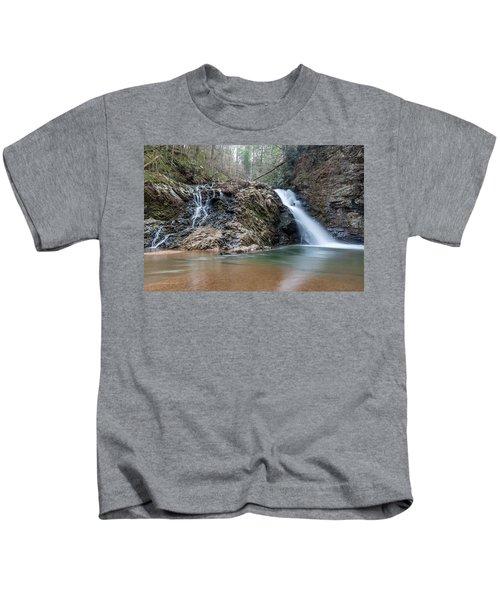 Lower Brasstown Falls Kids T-Shirt