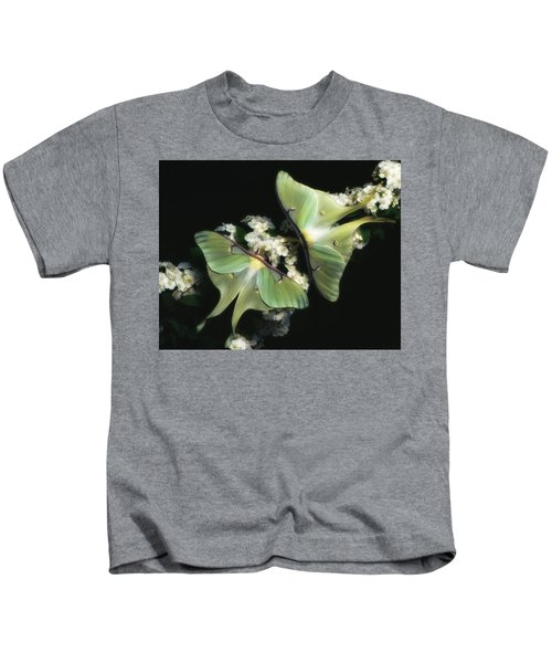 Luna Moths Kids T-Shirt