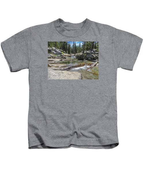 Lyell Fork Tuolomne River Yosemite National Park Kids T-Shirt