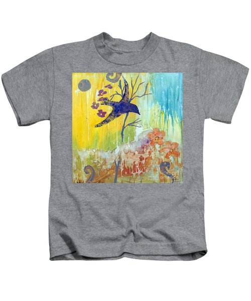 Ma Doh Bird Soars Kids T-Shirt