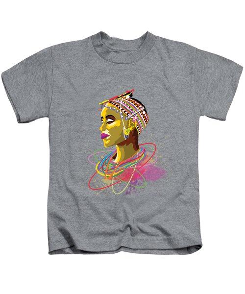 Maasai Beauty Kids T-Shirt