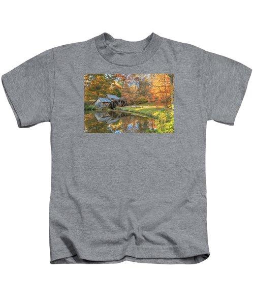 Mabry Mill. Blue Ridge Parkway Kids T-Shirt