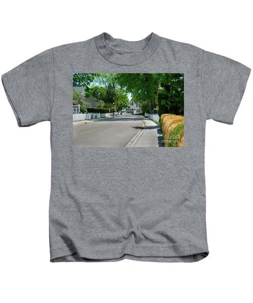 Mackinac Island Street Kids T-Shirt