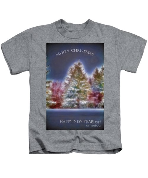 Merrry Christmas And Happy New Year Kids T-Shirt