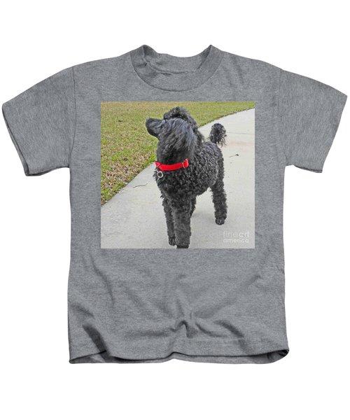 Maggie On Bird Watch Kids T-Shirt