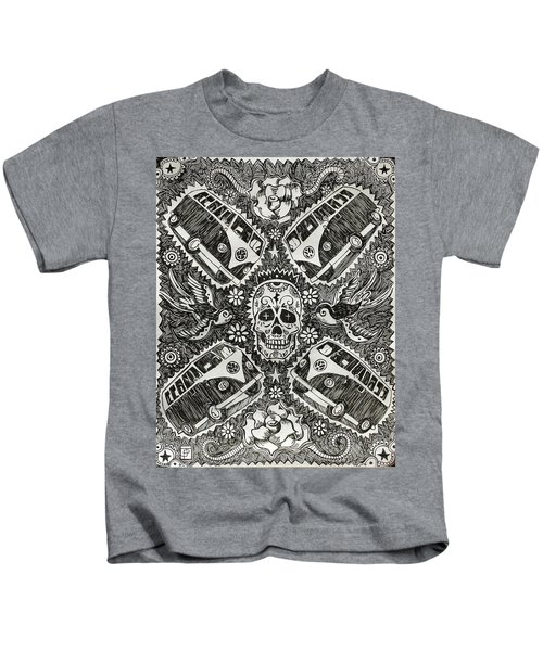 Magic Muerto Bus Kids T-Shirt