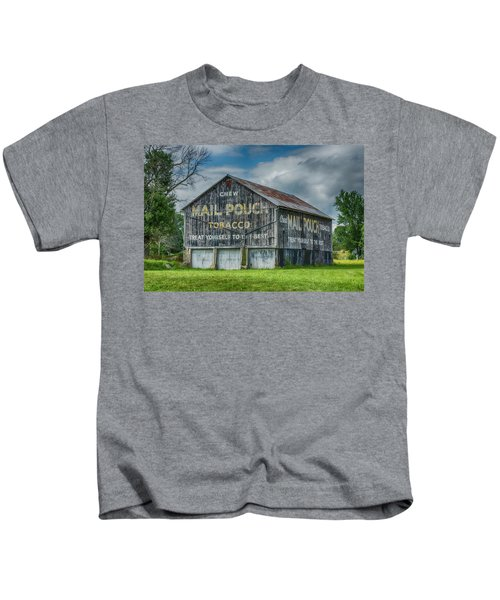 Mail Pouch Barn - Us 30 #4 Kids T-Shirt