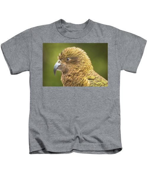 Kea Portrait Kids T-Shirt