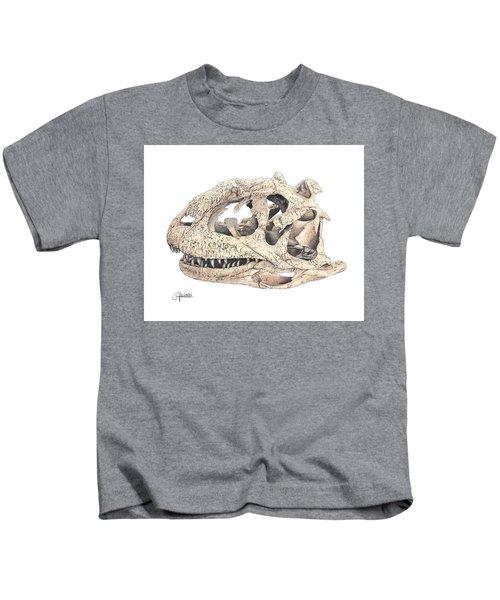 Majungasaur Skull Kids T-Shirt