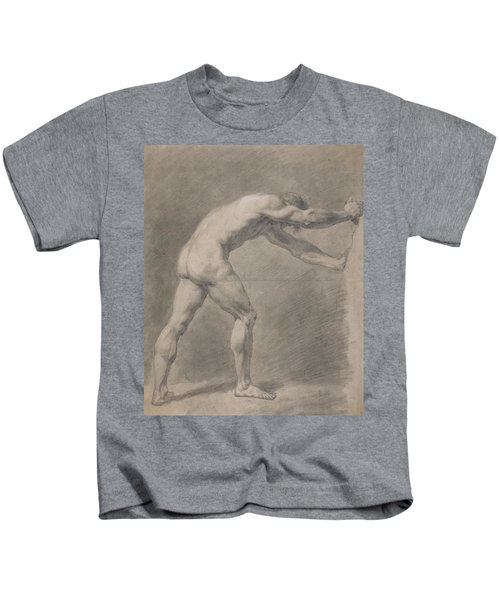 Male Nude  Kids T-Shirt