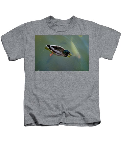 Mallard And Carp Kids T-Shirt