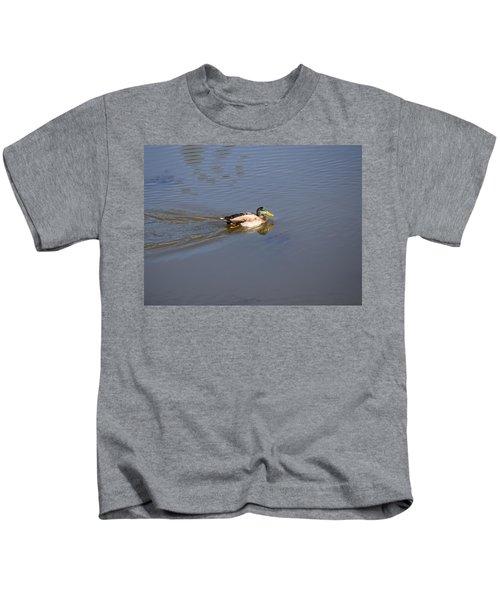 Mallard Duck Burgess Res Co Kids T-Shirt
