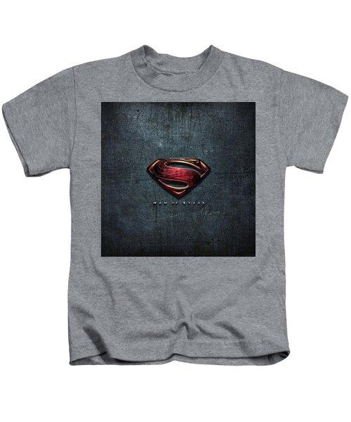 Man Of Steel 2013 5 Kids T-Shirt