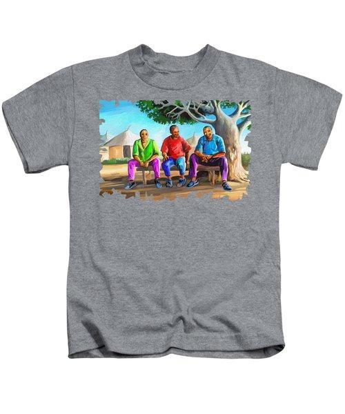 Man Talk Kids T-Shirt