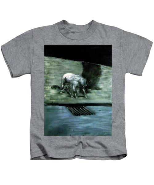 Man With Dog  Kids T-Shirt