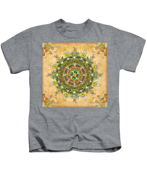 Mandala Flora Kids T-Shirt