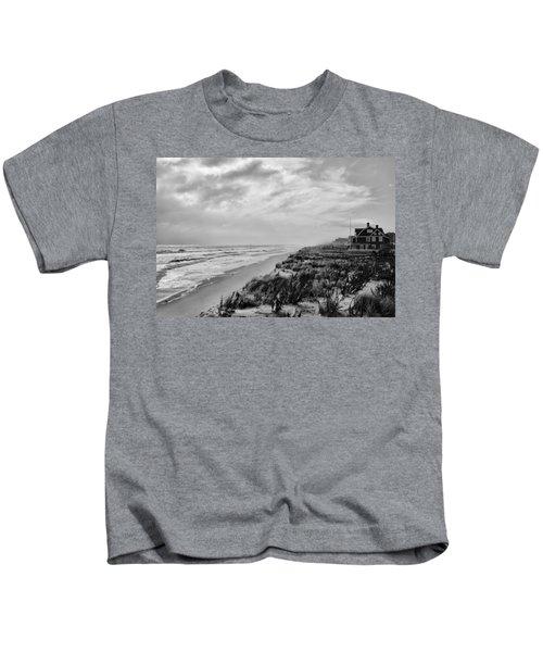 Mantoloking Beach - Jersey Shore Kids T-Shirt