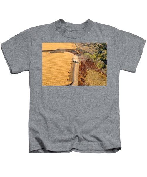 Many Acres To Harvest Kids T-Shirt