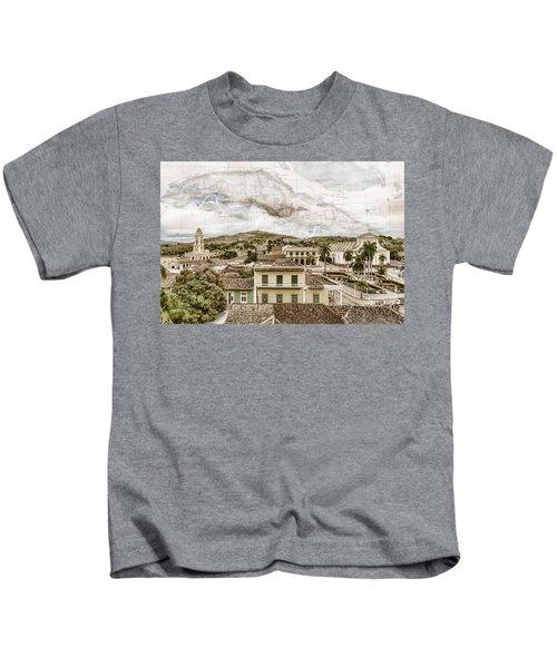 Mapping Trinidad Kids T-Shirt