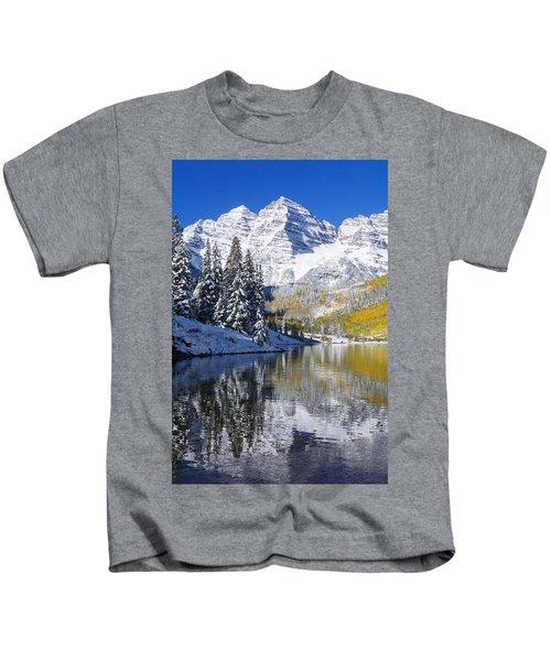 Maroon Lake And Bells 2 Kids T-Shirt