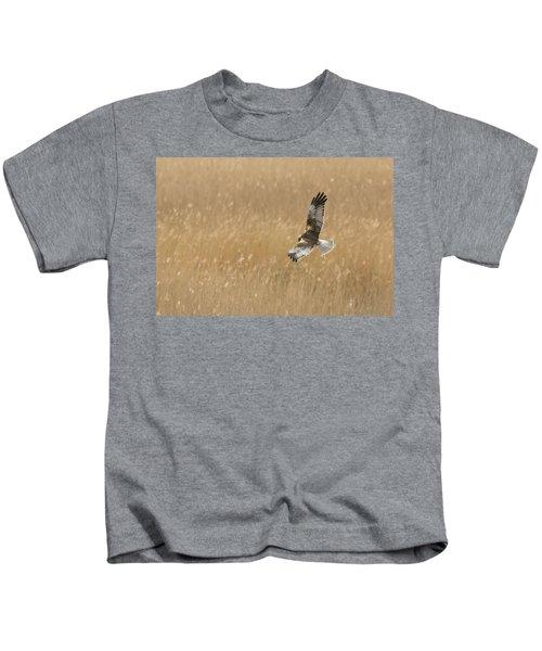 Marsh Harrier Kids T-Shirt