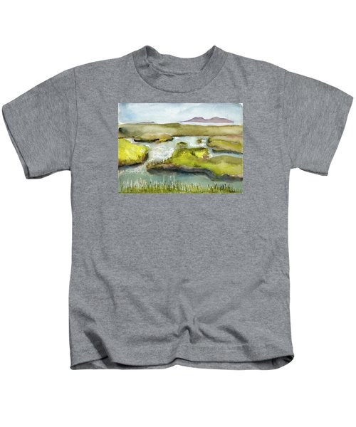 Marshes With Grash Kids T-Shirt