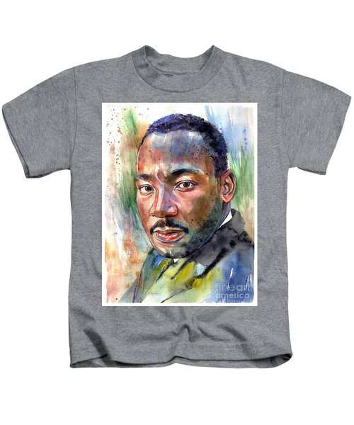 Martin Luther King Jr. Painting Kids T-Shirt