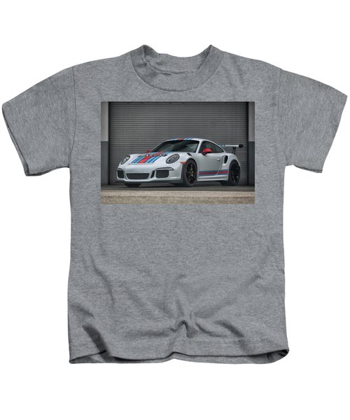 #martini #porsche 911 #gt3rs #print Kids T-Shirt