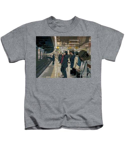 Marunouchi Line, Tokyo Metro Japan Poster 2 Kids T-Shirt