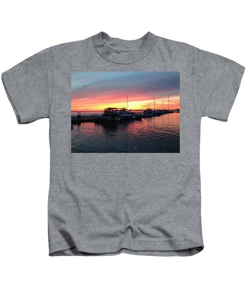 Masts And Steeples Kids T-Shirt